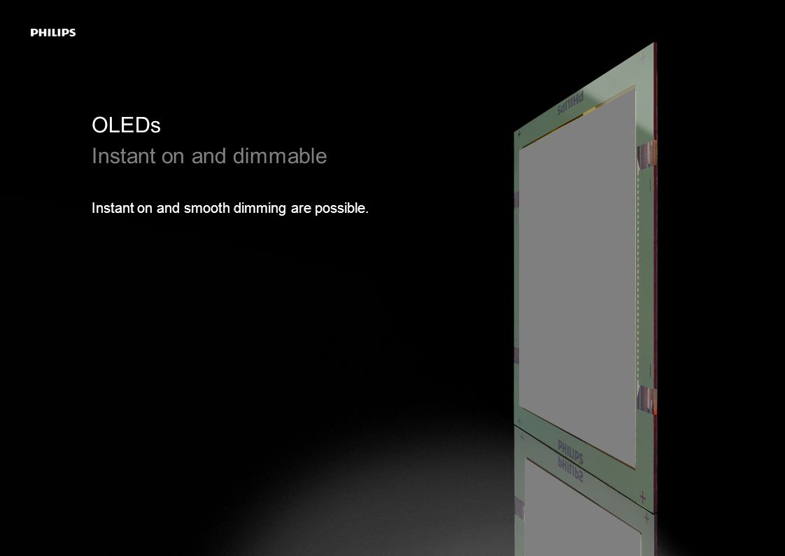 LivingSculpture 3D module system Adding the third dimension to OLED installations