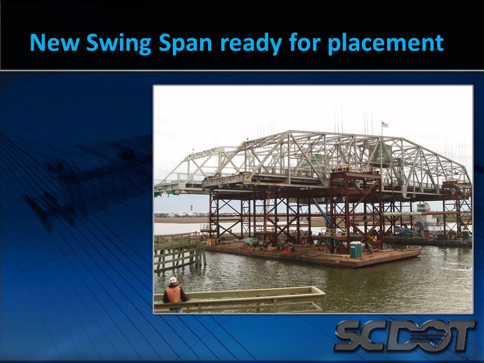 New Swing Span ready for placement