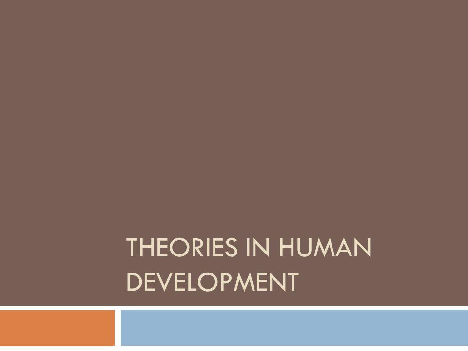 THEORIES IN HUMAN DEVELOPMENT
