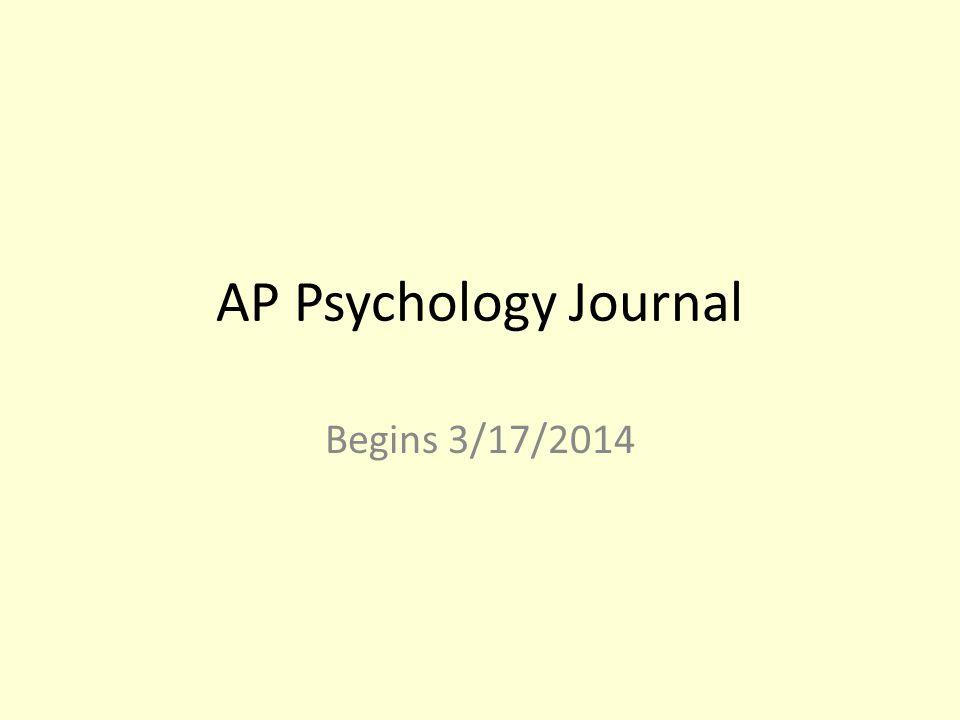 Journal Prompt 4/2/2014 Content Standard 1: Perspectives on abnormal behavior 1.1 Define psychologically abnormal behavior.