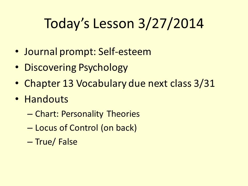 Journal prompt 4/8 2.4 Evaluate how different factors influence an individual's experience of psychological disorders.