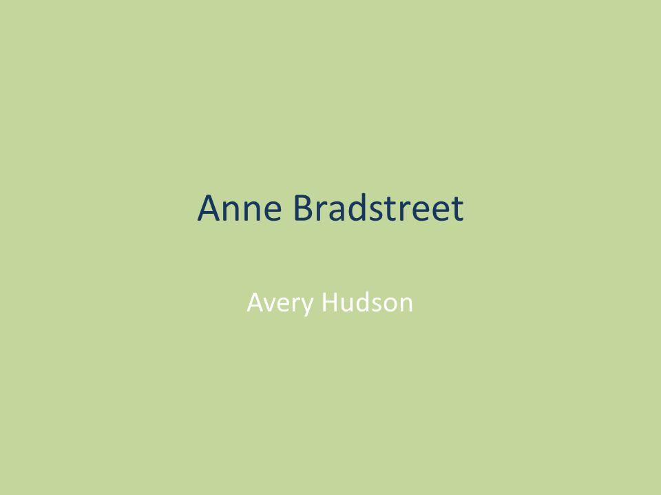 Anne Bradstreet Avery Hudson