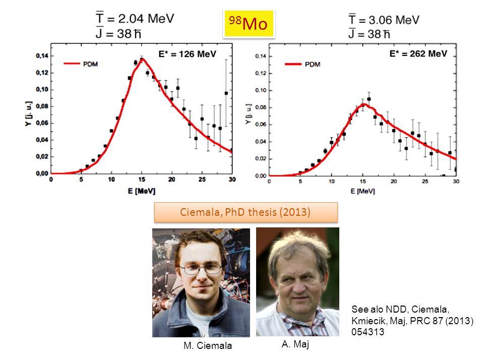 Ciemala, PhD thesis (2013) A. Maj M.
