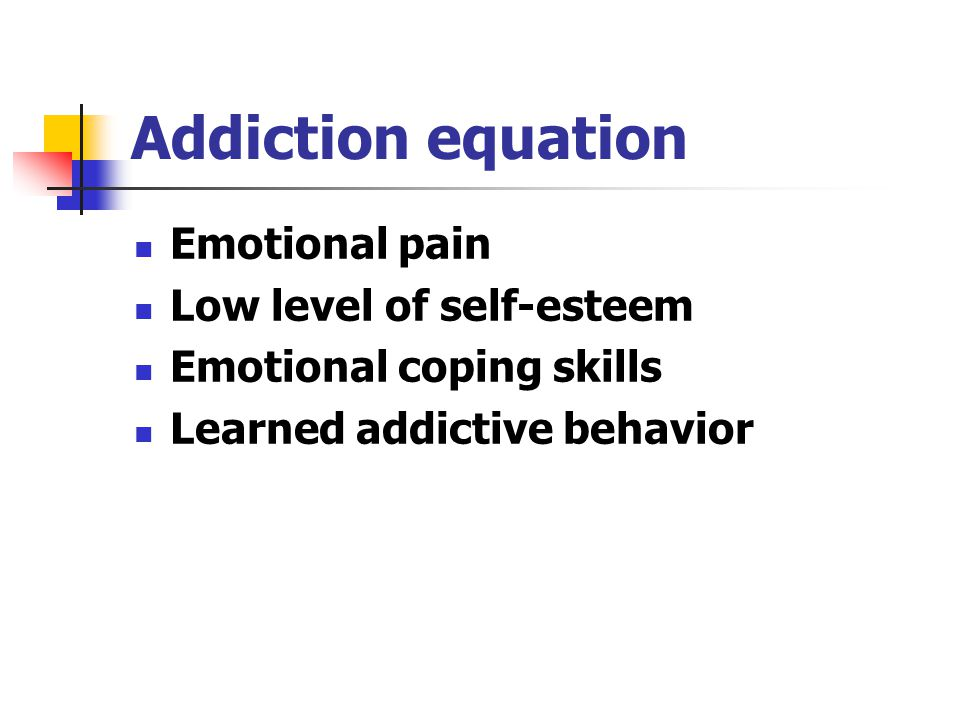 Maintenance Phase Relapse equation: Cues + Negative mood and Positive mood+ Urge + Expectations + Activation of Brain Reward System * Low Self Efficacy = Relapse or No Relapse Cues Negative mood and Positive mood Urge Expectations Physiological Factors Low Self Efficacy