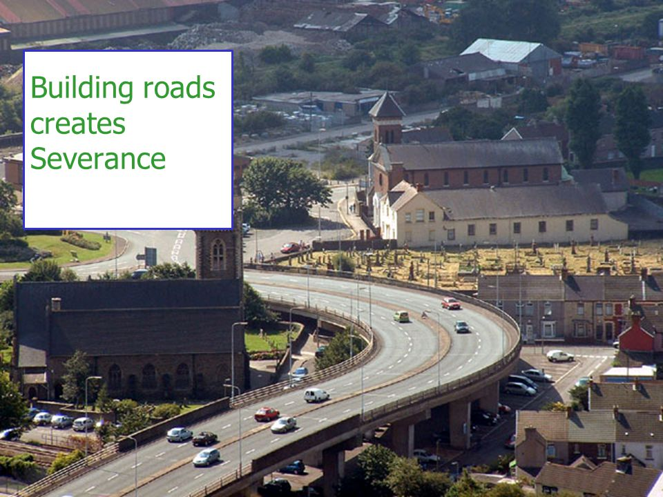 20 Building roads creates Severance