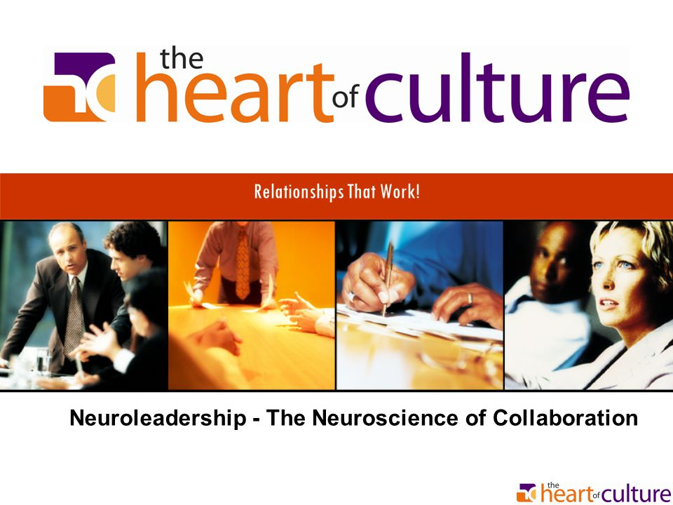 Relationships That Work! Neuroleadership - The Neuroscience of Collaboration