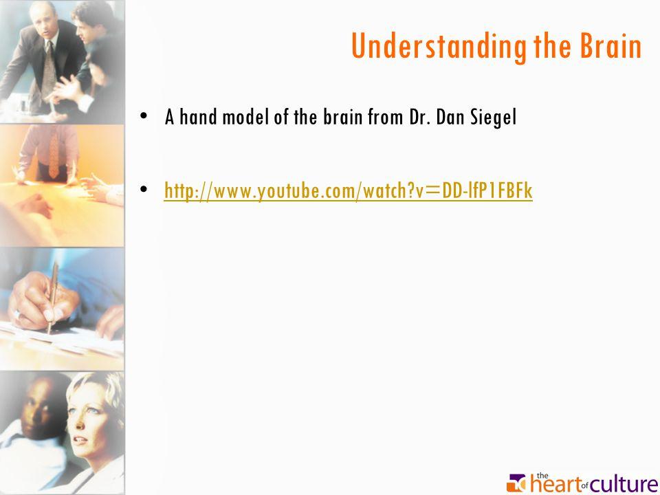 Understanding the Brain A hand model of the brain from Dr. Dan Siegel http://www.youtube.com/watch?v=DD-lfP1FBFk
