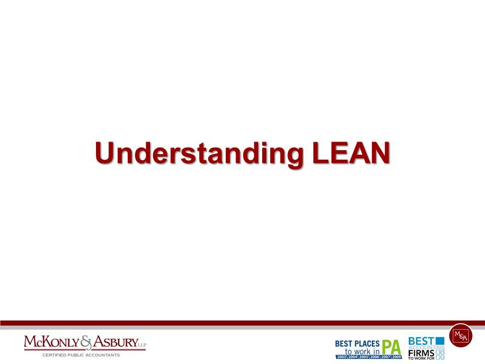 Understanding LEAN