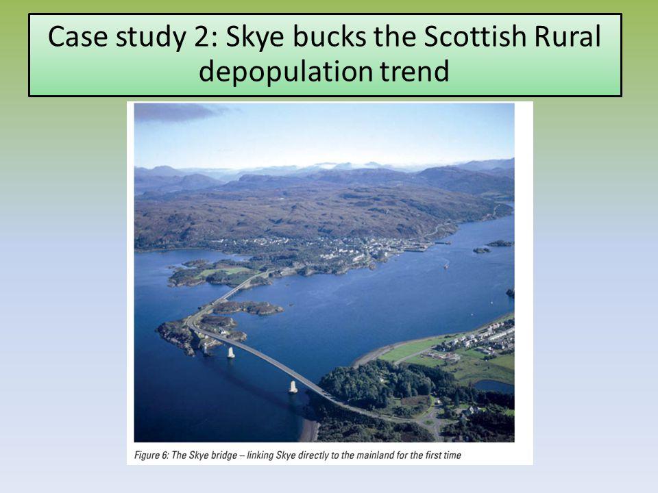 Case study 2: Skye bucks the Scottish Rural depopulation trend