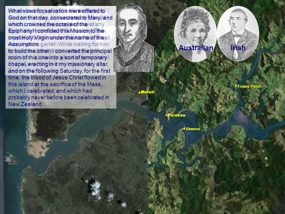 Rawene Purakau Motuti Totara Point On Wednesday, the 10 th of January, 1838, we arrived at the entrance of the Hokianga River … after a pleasant passa