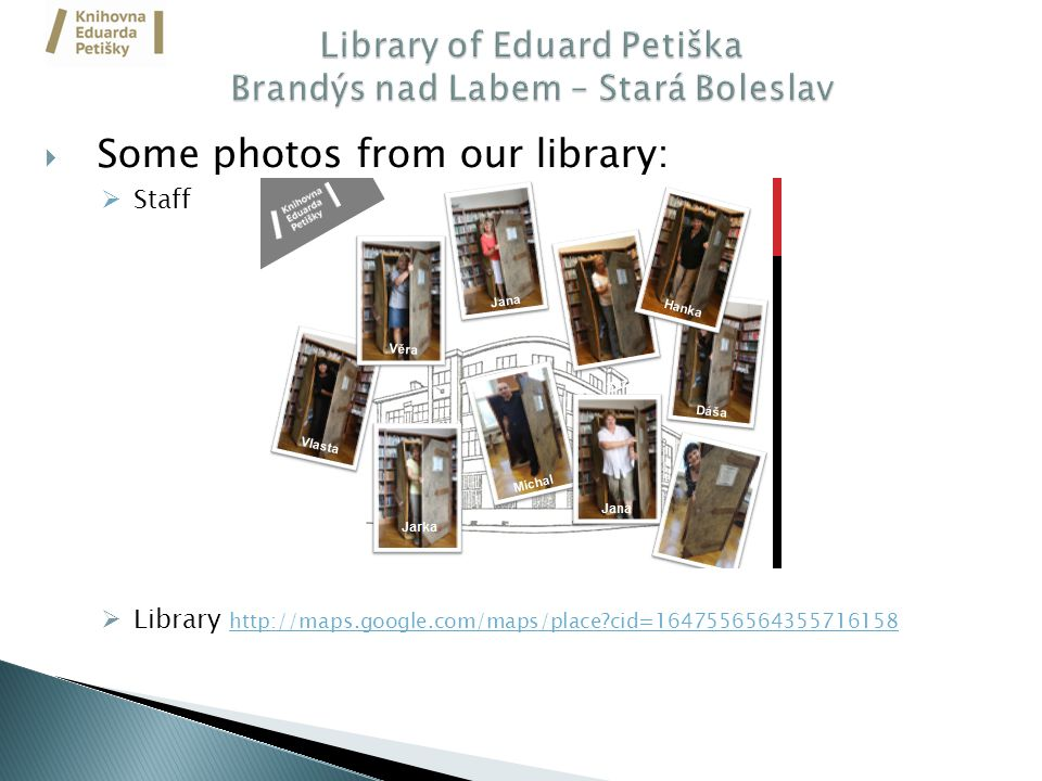  Some photos from our library:  Staff  Library http://maps.google.com/maps/place cid=1647556564355716158 http://maps.google.com/maps/place cid=1647556564355716158