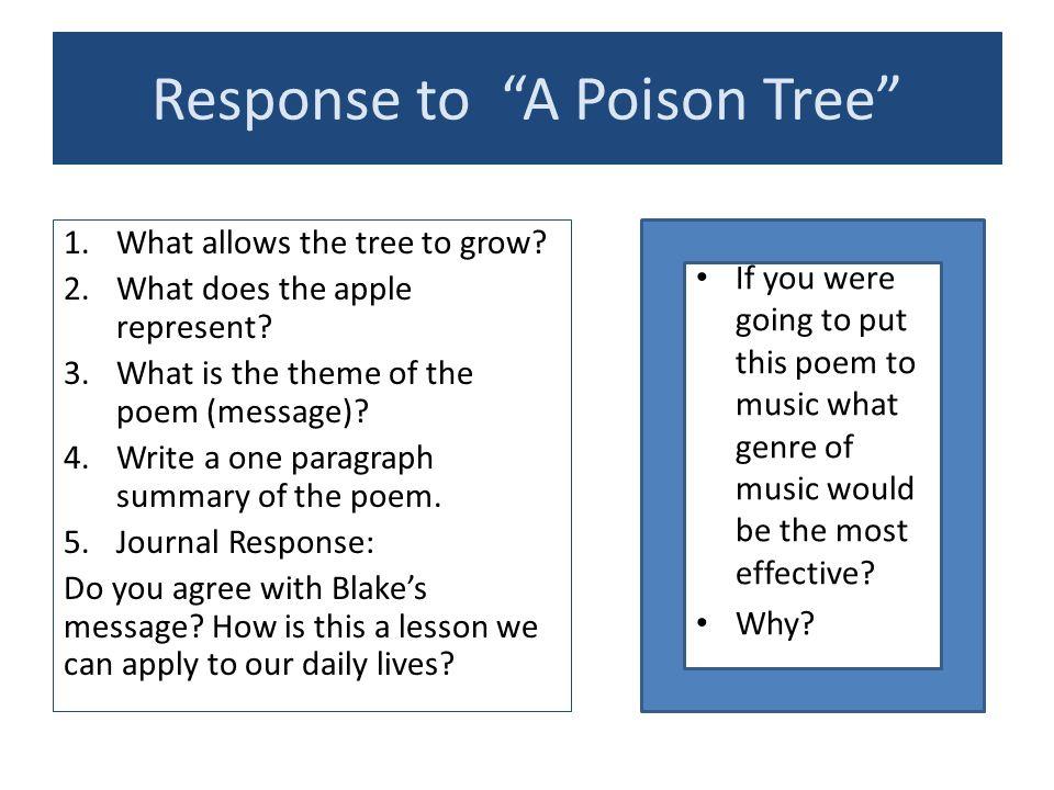 analysis of a poison tree essays
