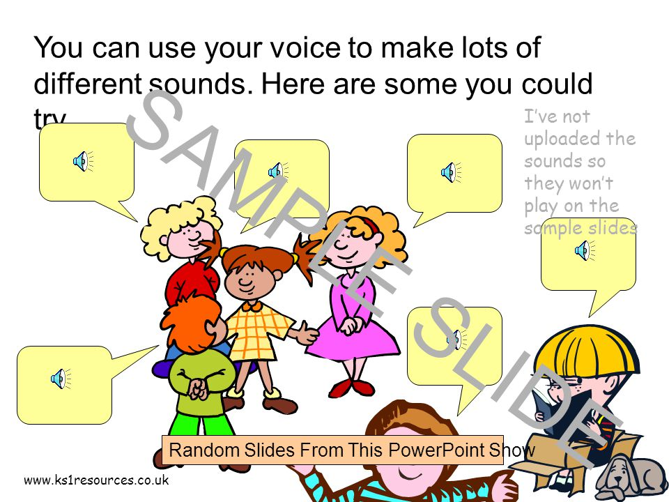 www.ks1resources.co.uk Exploring – How do we make sounds using different instruments.