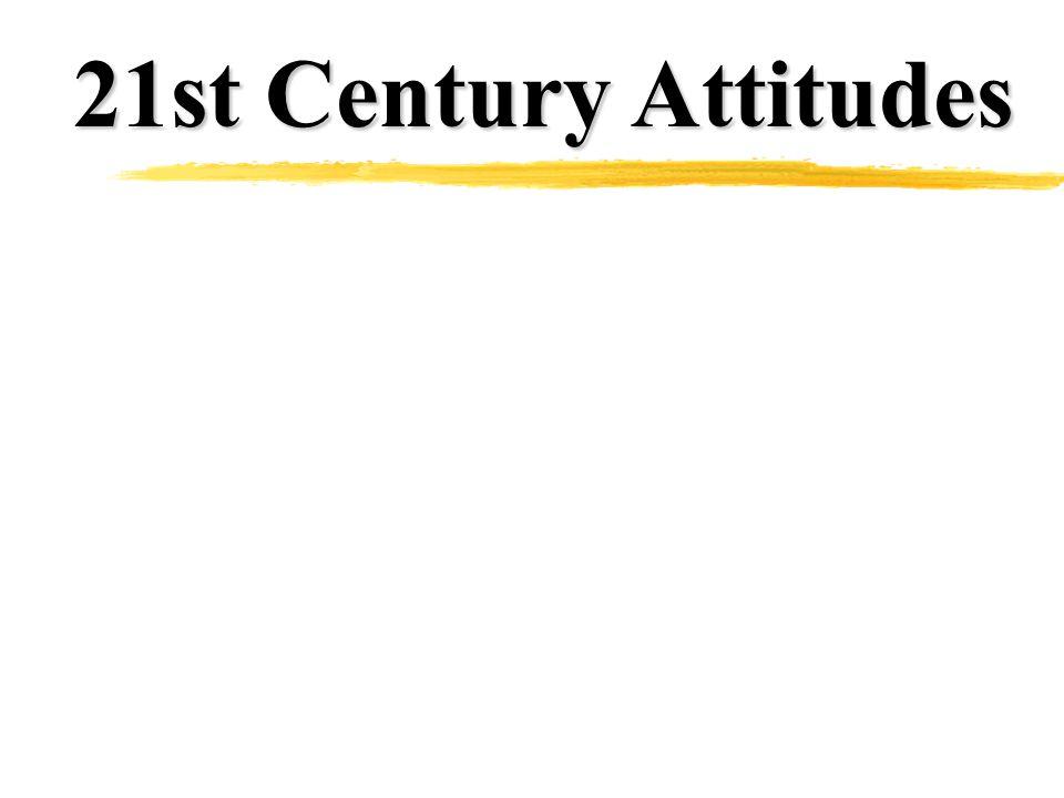 21st Century Attitudes