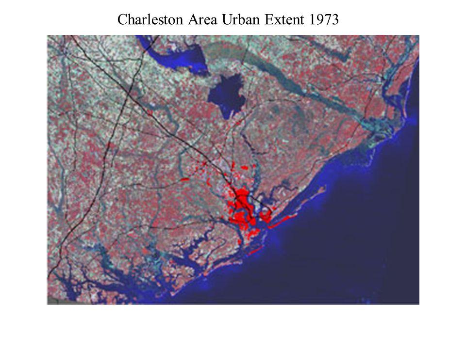 Charleston Area Urban Extent 1994