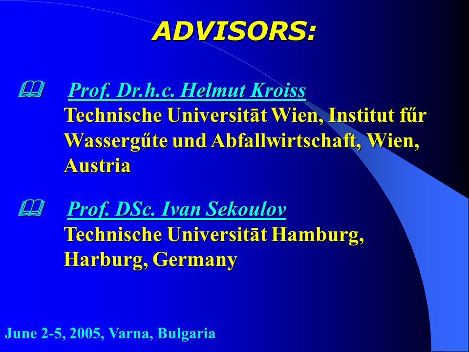 ADVISORS:  Prof. Dr.h.c.