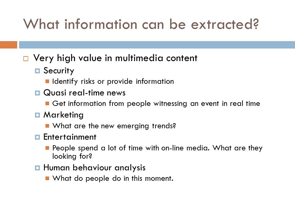 What information can be extracted.