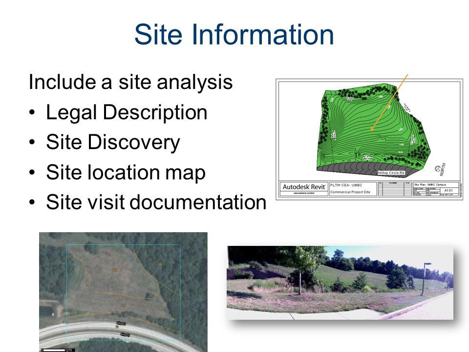 Code Requirements Type of Construction Occupancy classification Zoning ADA Egress Parking Landscaping Etc.