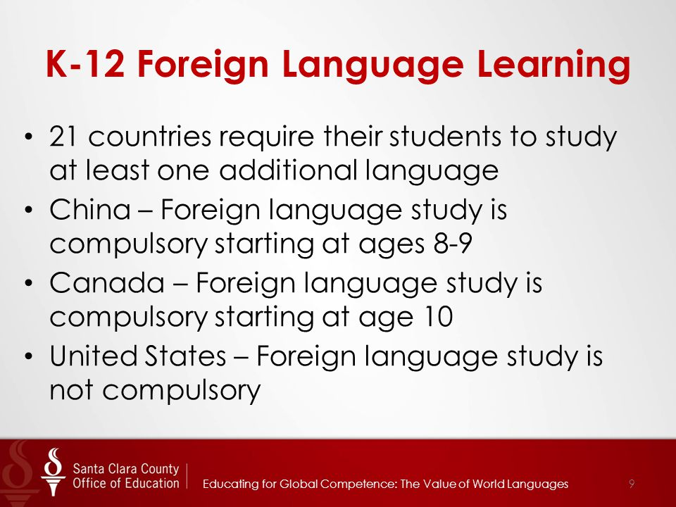 For More Information Yee Wan, Ed.D., Director, Multilingual Education Services yee_wan@sccoe.org 408-453-6825 yee_wan@sccoe.org Melissa Christie, Director, Curriculum and Instruction melissa_christie@sccoe.org 408-453-6632 melissa_christie@sccoe.org Angelica Ramsey, Ed.D., Chief Academic Officer Educational Services Branch angelica_ramsey@sccoe.org 408-453-6508 angelica_ramsey@sccoe.org 20Educating for Global Competence: The Value of Multilingualism