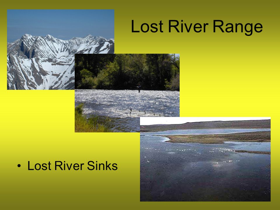 Lost River Range Lost River Sinks