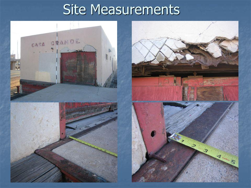 Site Measurements
