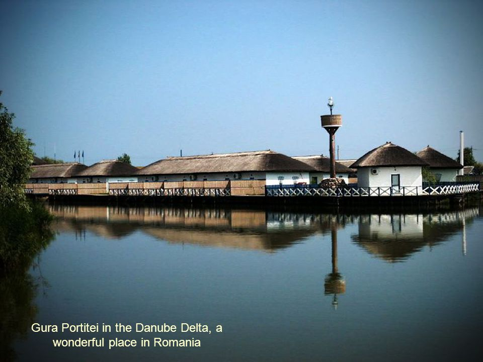 Gura Portitei in the Danube Delta, a wonderful place in Romania