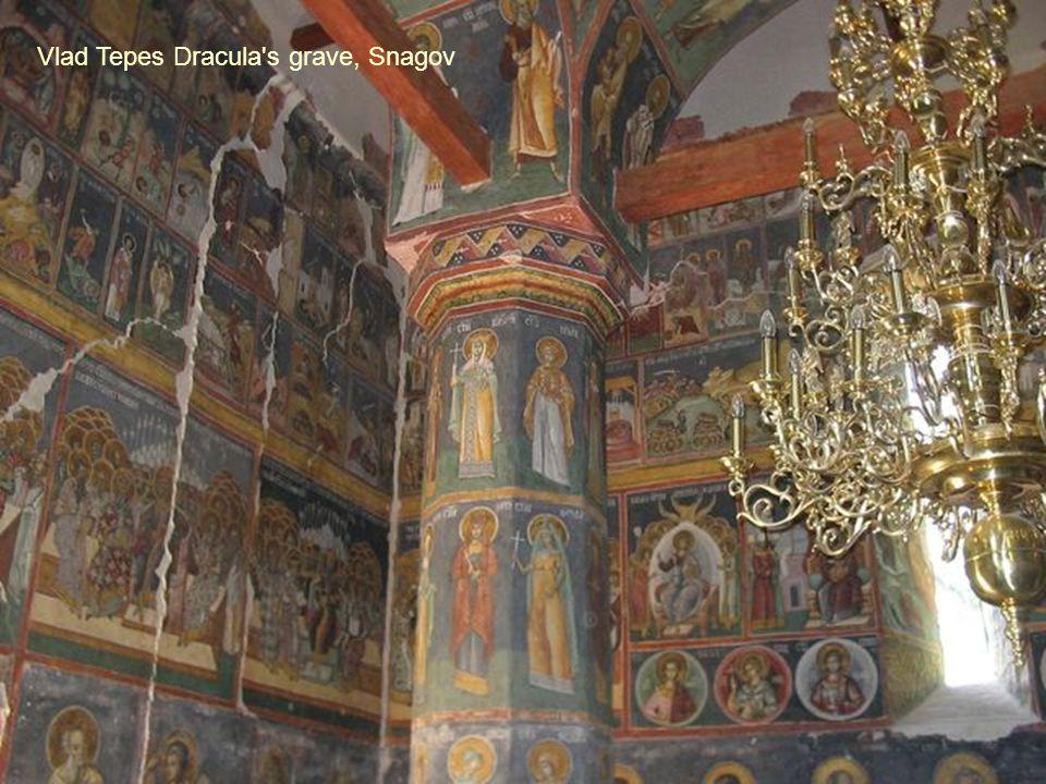 Vlad Tepes Dracula s grave, Snagov