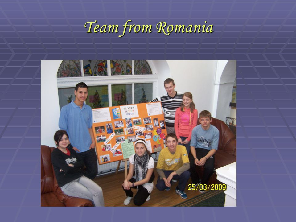 Team from Romania