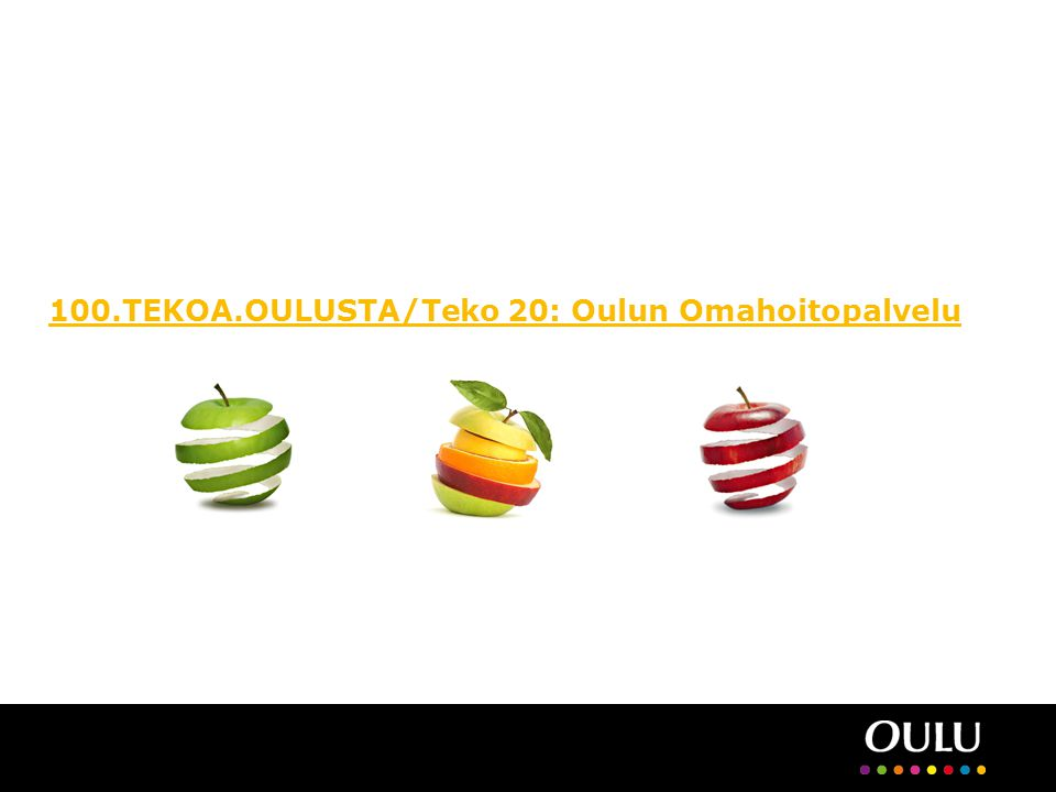 100.TEKOA.OULUSTA/Teko 20: Oulun Omahoitopalvelu
