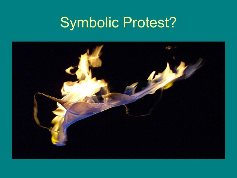 Symbolic Protest?