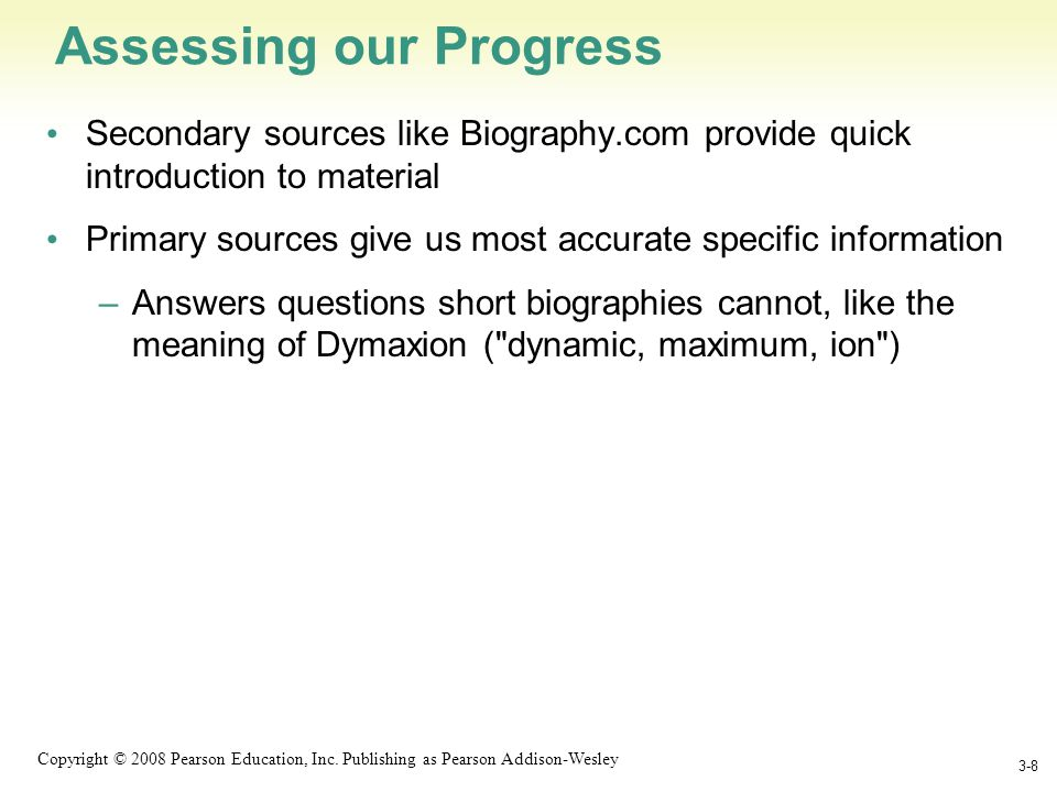 1-9 Copyright © 2008 Pearson Education, Inc.