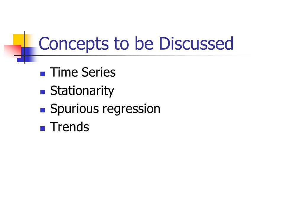 Economics 310 Lecture 24 Univariate Time Series
