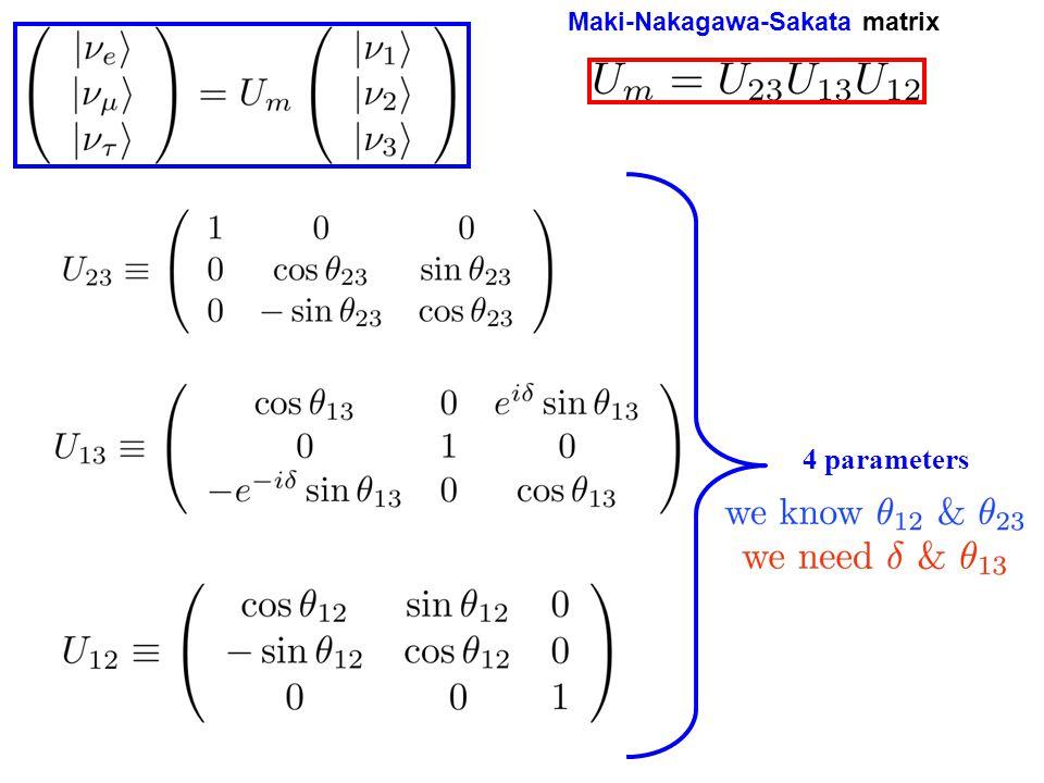 4 parameters Maki-Nakagawa-Sakata matrix
