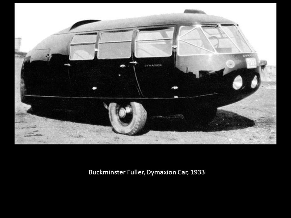 Buckminster Fuller, Dymaxion Car, 1933