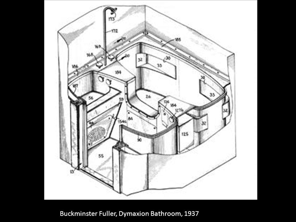 Buckminster Fuller, Dymaxion Bathroom, 1937