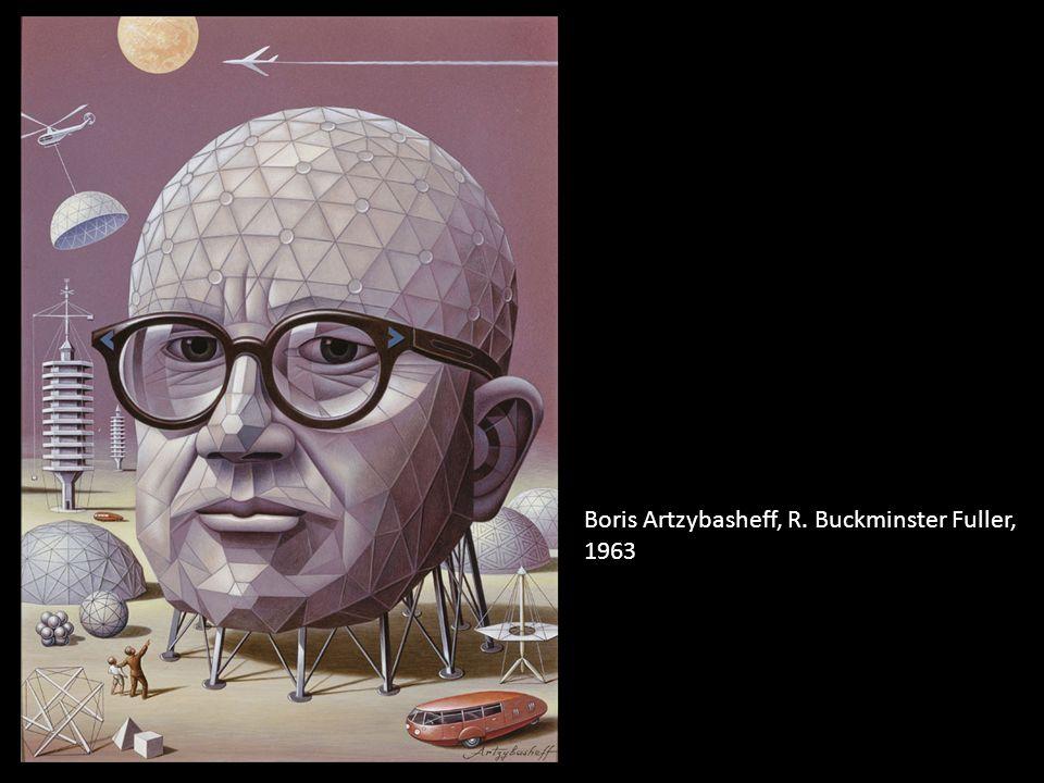 Boris Artzybasheff, R. Buckminster Fuller, 1963