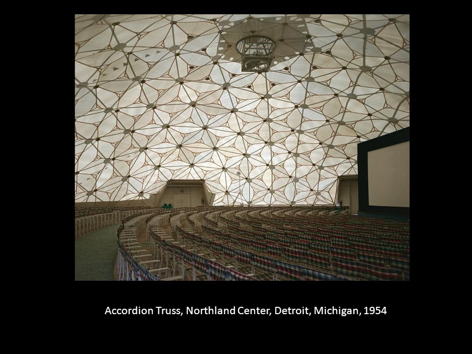 Accordion Truss, Northland Center, Detroit, Michigan, 1954