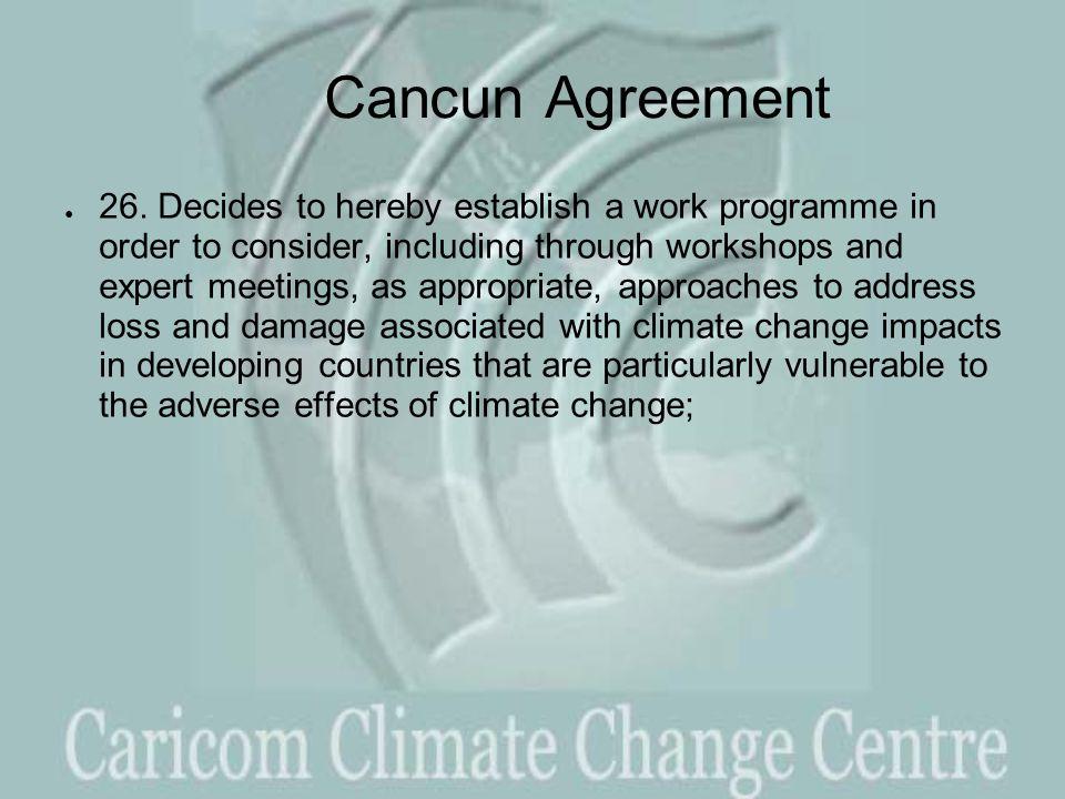 Cancun Agreement ● 26.