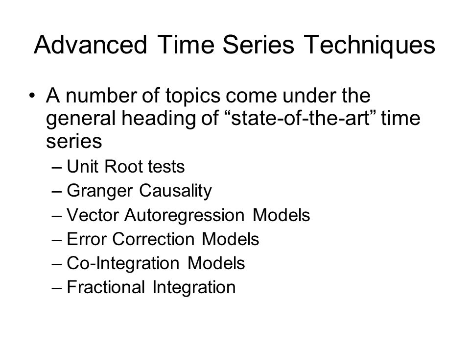 Vector Autoregression Vector Autoregression Models (VARs) are best seen in contrast to Simultaneous Equation Models (SEQs) SEQ models involve a set of endogenous variables regressed on a set of exogenous variables, with appropriate lag structures supplied for dynamic processes, including simultaneity.