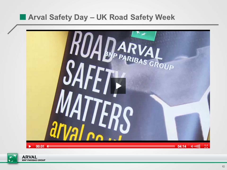 10 Arval Safety Day – UK Road Safety Week