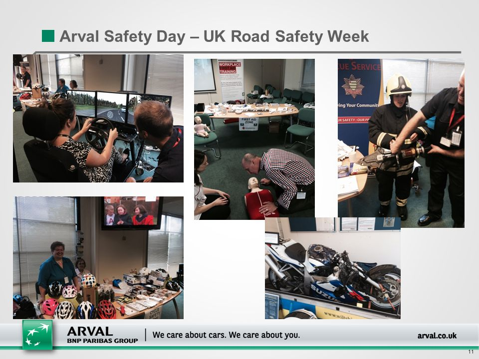 11 Arval Safety Day – UK Road Safety Week