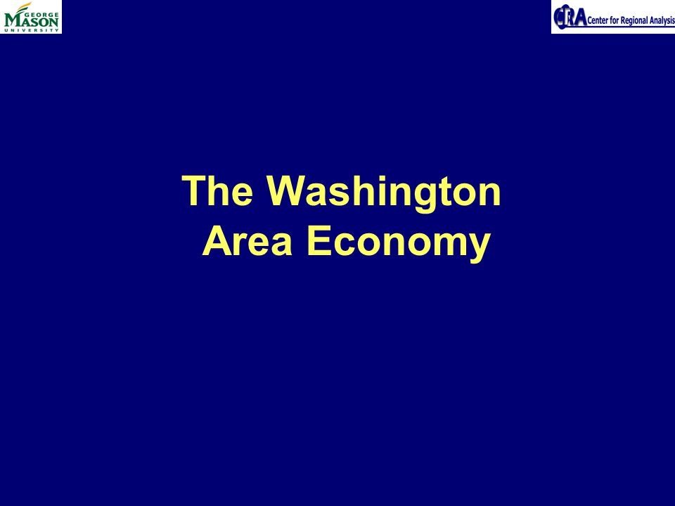 The Washington Area Economy