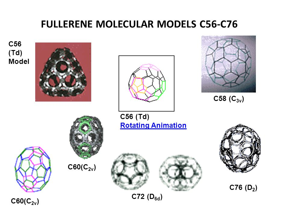 Another fairly common fullerene is C 70, but fullerenes with 72, 76, 84 and even up to 100 carbon atoms are commonly obtained.