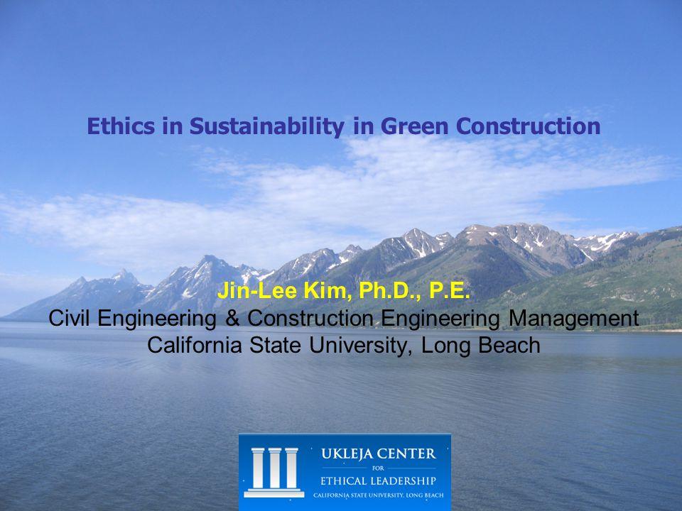 Major Environmental & Resource Concerns 2.