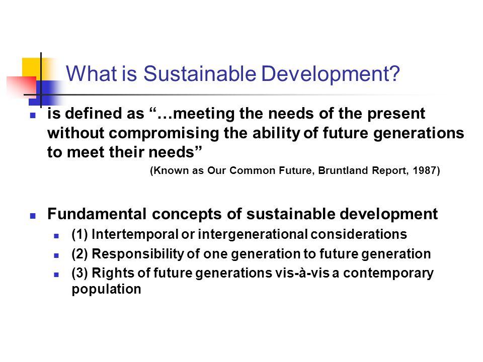 Major Environmental & Resource Concerns 3.