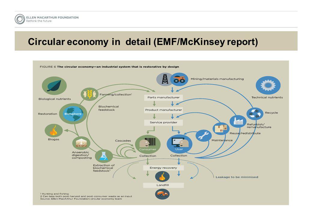Circular economy in detail (EMF/McKinsey report)
