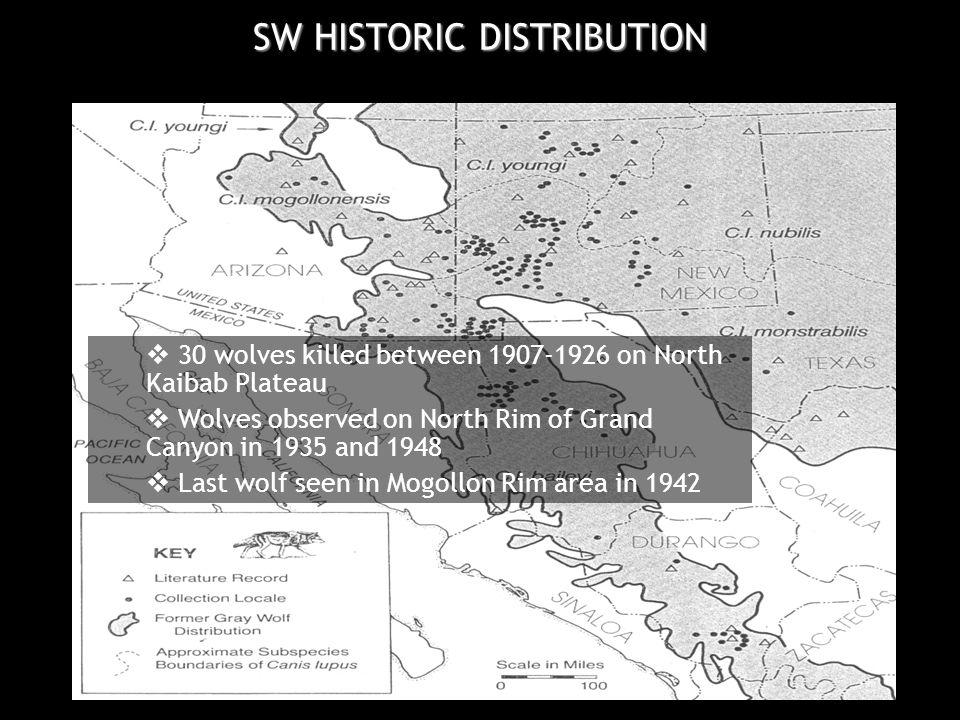 Based on course screen , landscape-scale, spatial modeling of wolf habitat (e.g., Ratti et al.