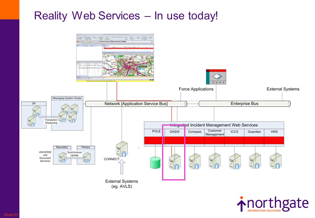 Slide 65 Reality Web Services – In use today!