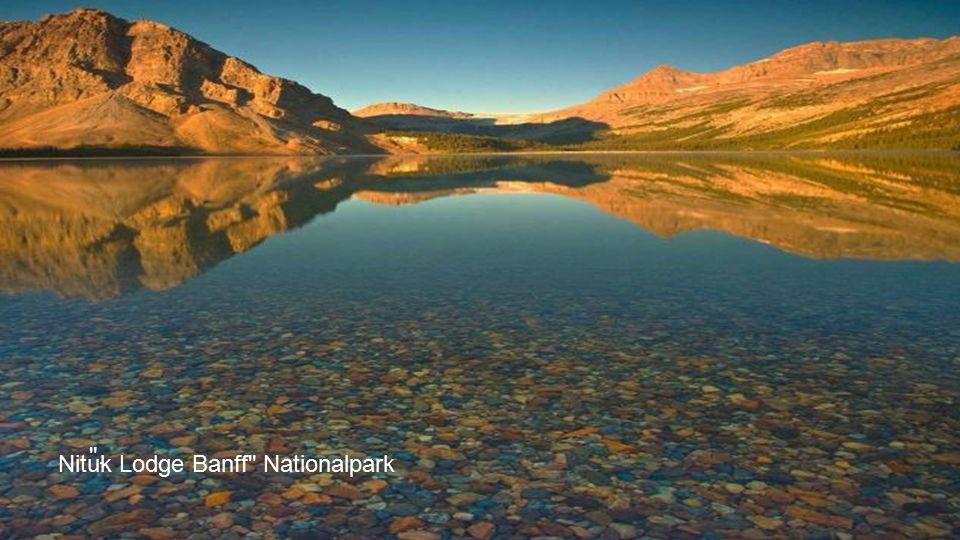 Bow Fluss, Rocky Mountains