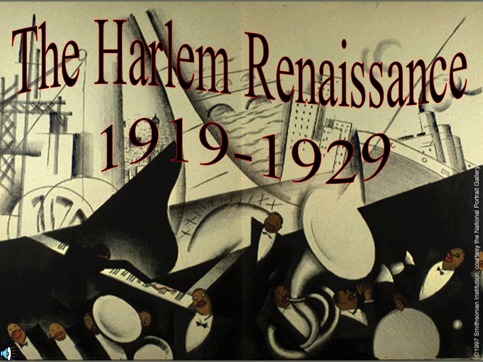 The visual art of the Harlem Renaissance was an attempt at developing a new African- American aesthetic in the fine arts.